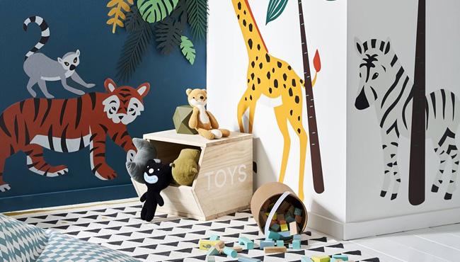 Une déco jungle dans la chambre des kids avec vertbaudet ...