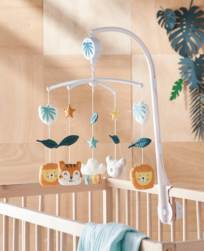 deco enfant jungle mobile