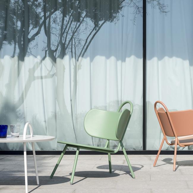 fauteuil jardin deco vert pastel swim