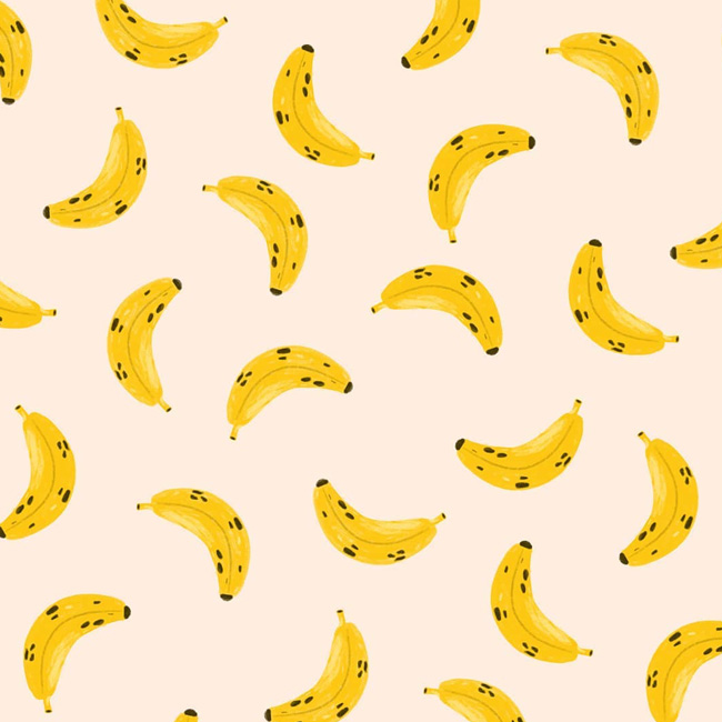 atelier mouette illustration banane