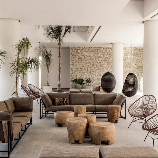 deco bohème terrasse moderne