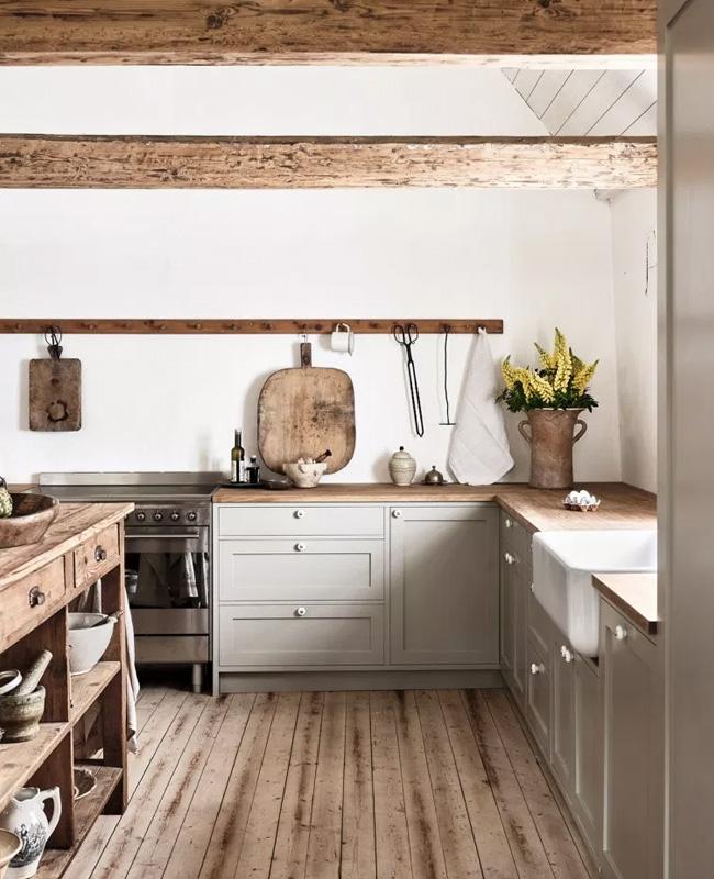 deco cuisine campagne minimaliste