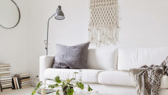 deco macrame salon