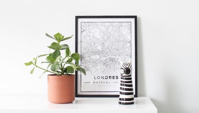 mapiful carte ville déco