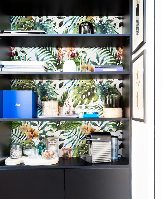 deco bureau professionnel moderne coloré neva étagère tropicale