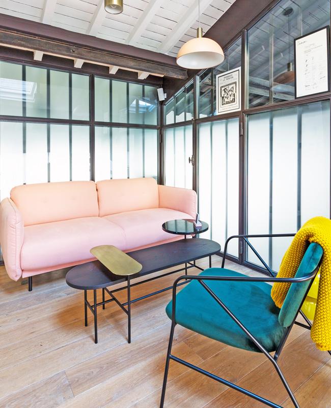 deco bureau professionnel moderne coloré neva salon