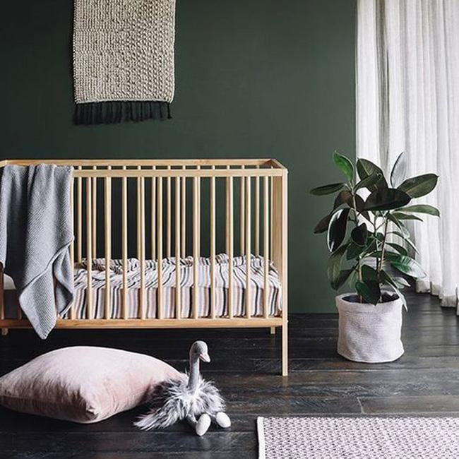 Du vert dans la chambre de bébé | Shake My Blog