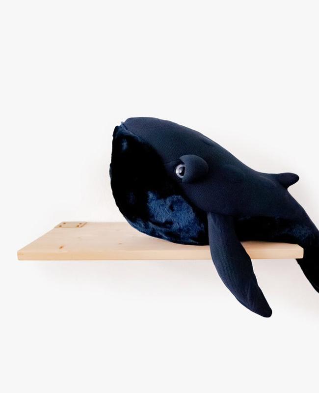 etsy big stuffed peluche baleine bleu nuit