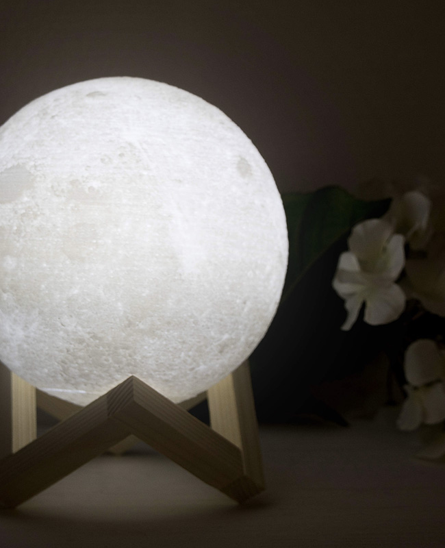 lampe chevet lune led astro