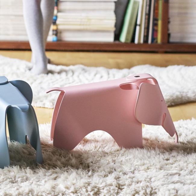 meuble rose chambre enfant tabouret éléphant