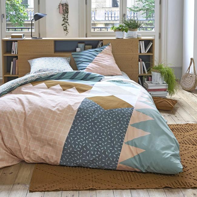 nouveau tapis berbère bohème marron
