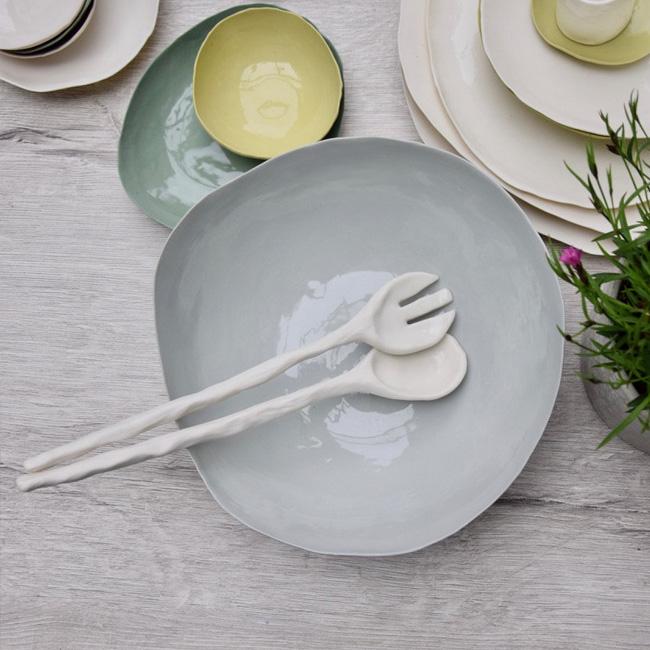 porcelaine dodici sessanta etsy couverts salade