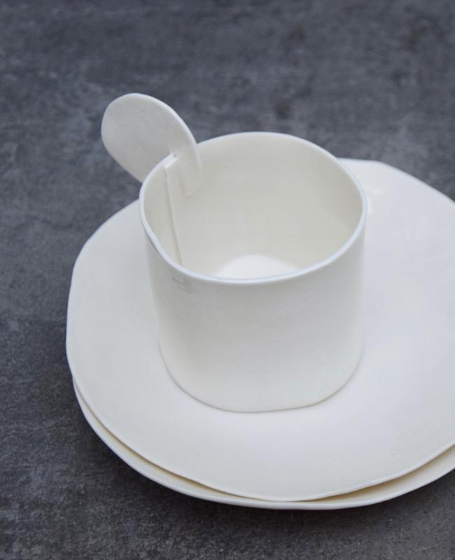 porcelaine dodici sessanta etsy tasse blanche