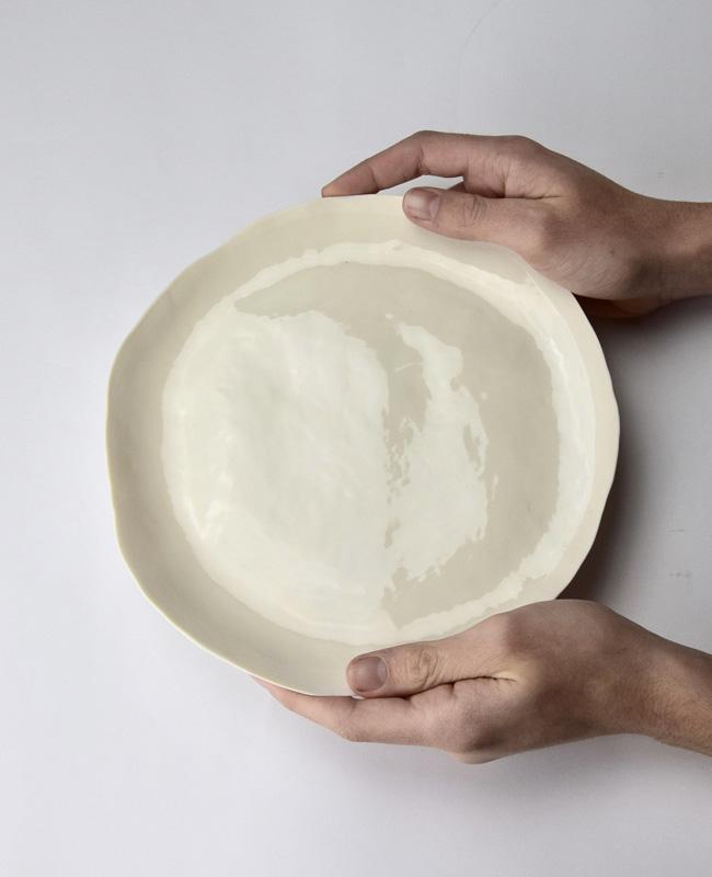 porcelaine dodici sessanta etsy assiette blanche