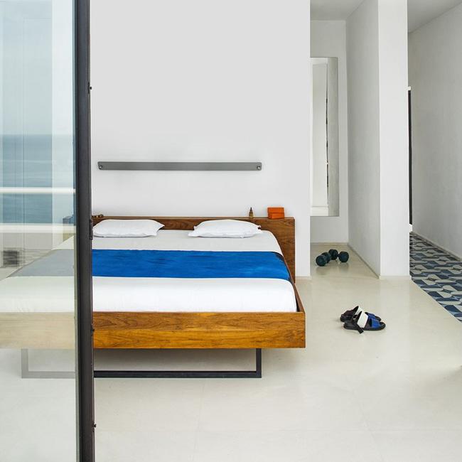 deco chambre minimaliste bois couleur