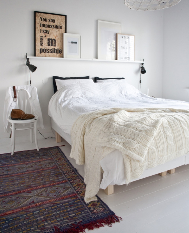 deco chambre minimaliste scandinave