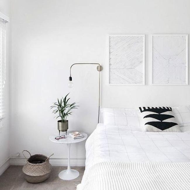 deco chambre minimaliste moderne