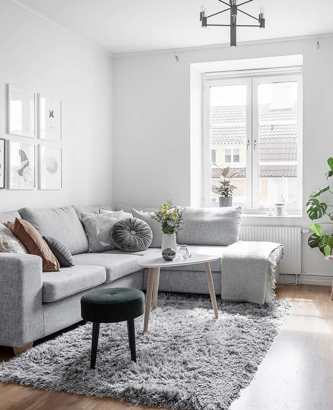 deco appartement airbnb salon lumineux