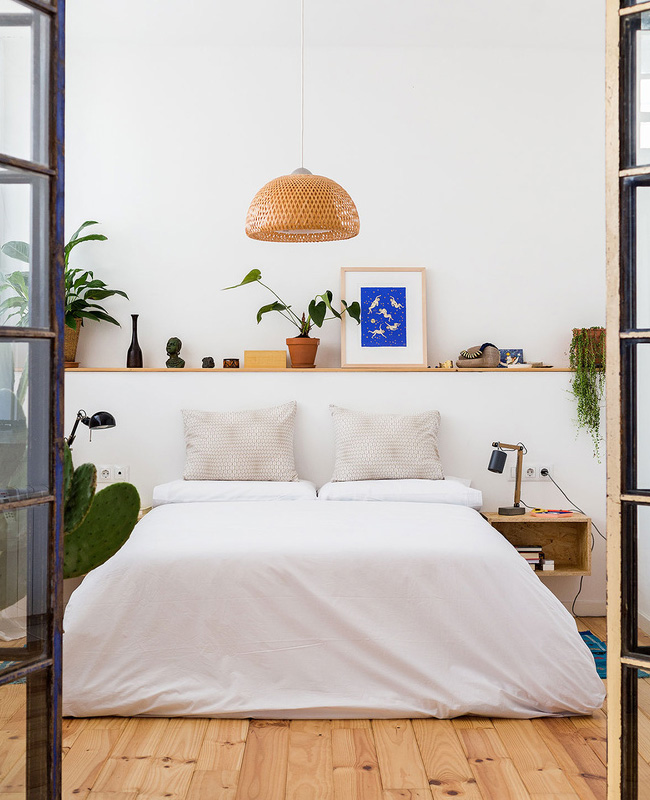 deco appartement airbnb plantes