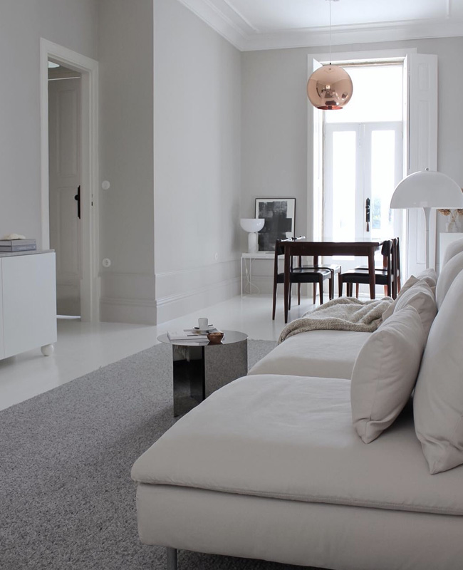 visite deco minimaliste salon blanc