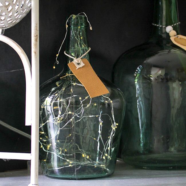 deco éclectique cocooning bouteille