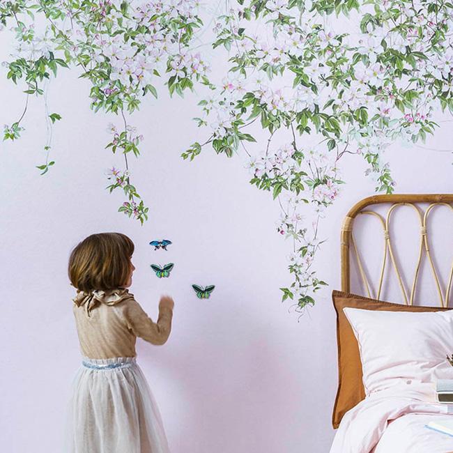 papier peint aimanté magnétique sian zeng etsy végétal