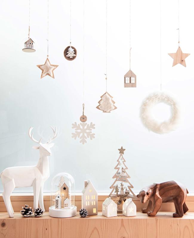 deco noel maisons du monde natural christmas