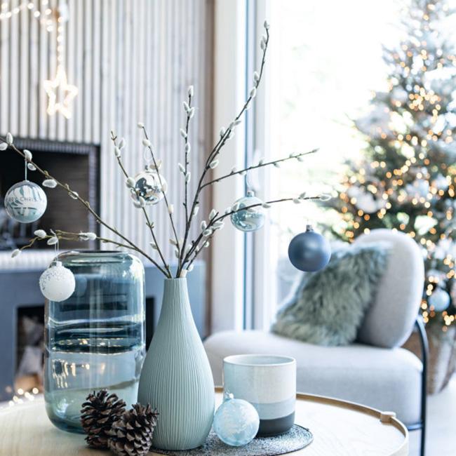 deco noel maisons du monde iced christmas