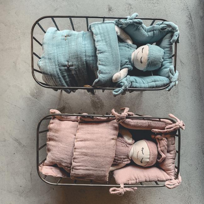 jouet eco friendly noel berceau poupée