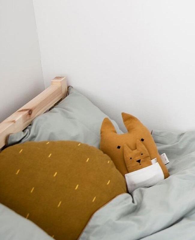 jouet eco friendly noel coussin kangourou