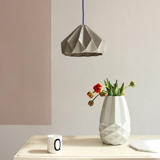 suspension origami etsy nellianna grise
