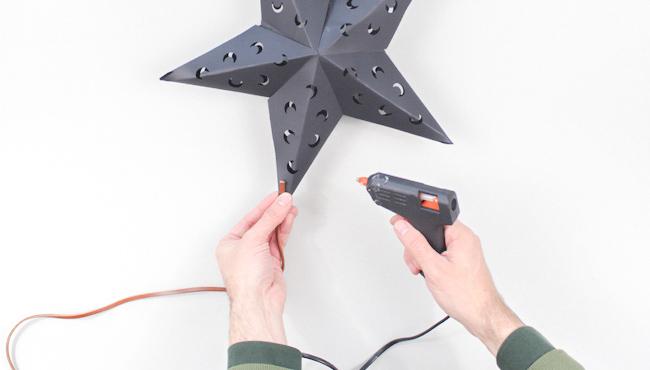 étoile noël 3d diy à imprimer étape 10