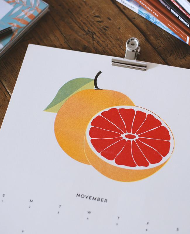etsy fav calendrier 2020 fruit