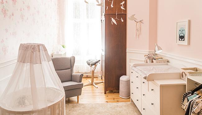 chambre rose bébé garçon