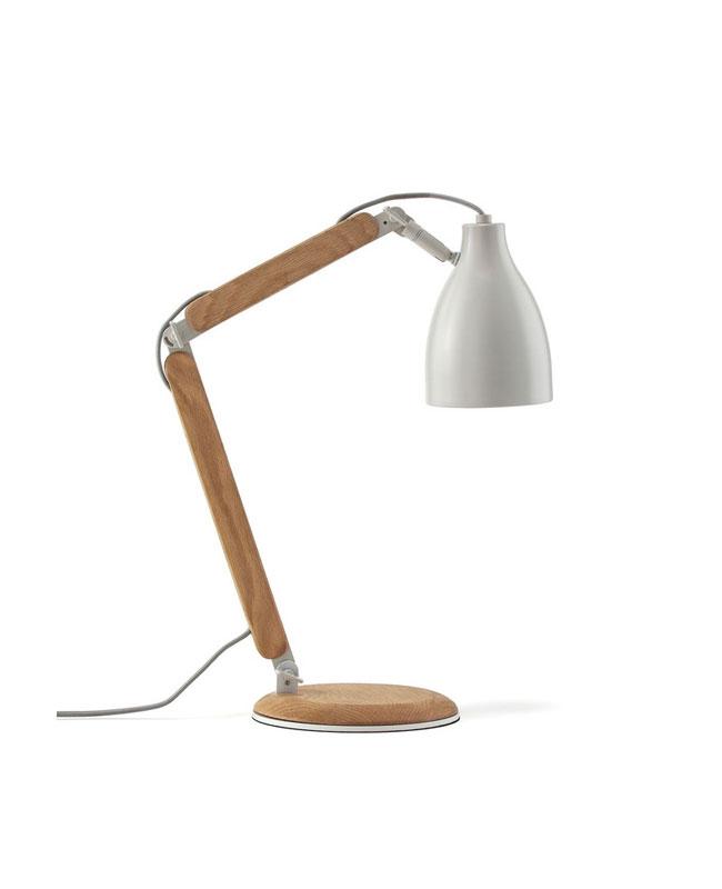 deco industrielle lampe articulée chevet