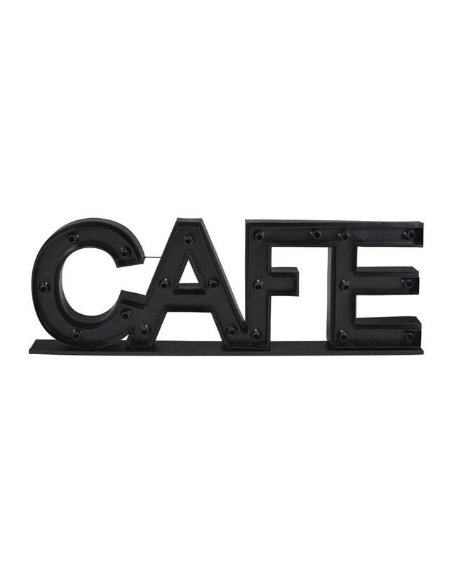 deco industrielle applique lumineuse café