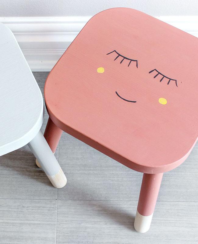 Ikea Hack flisat tuto diy personnage