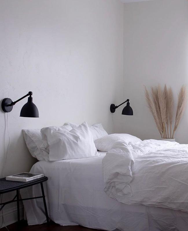 insta deco willowstyleco chambre noir blanc