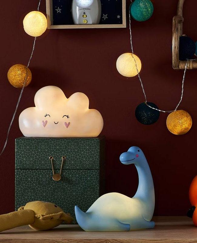 luminaire nuage deco bebe veilleuse