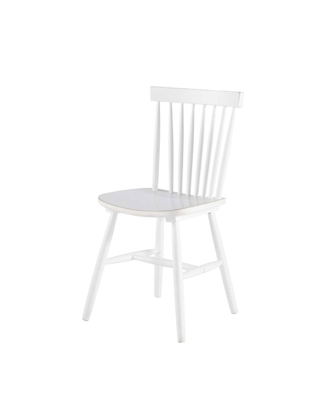 selection meuble deco scandinave chaise blanche