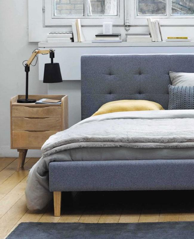 selection meuble deco scandinave chambre
