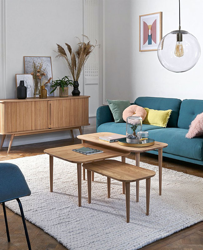 selection meuble deco scandinave salon