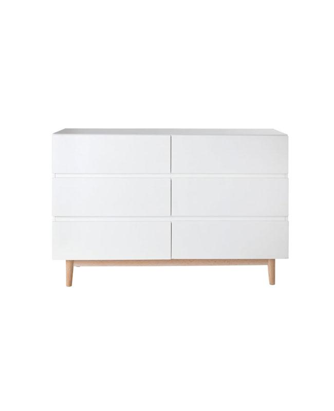 selection meuble deco scandinave commode blanc bois