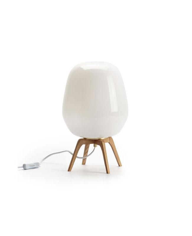 selection meuble deco scandinave lampe chevet opaline