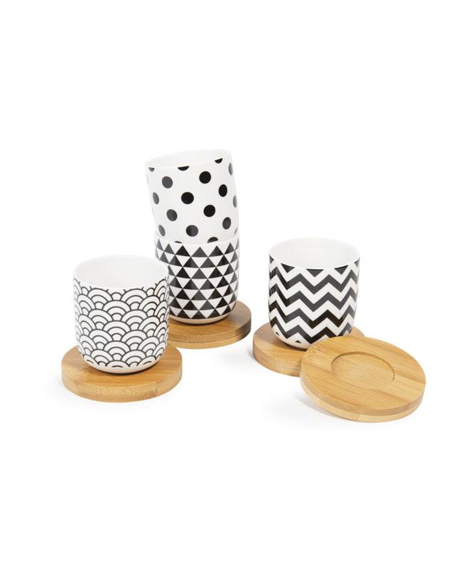 selection meuble deco scandinave tasse geometrique