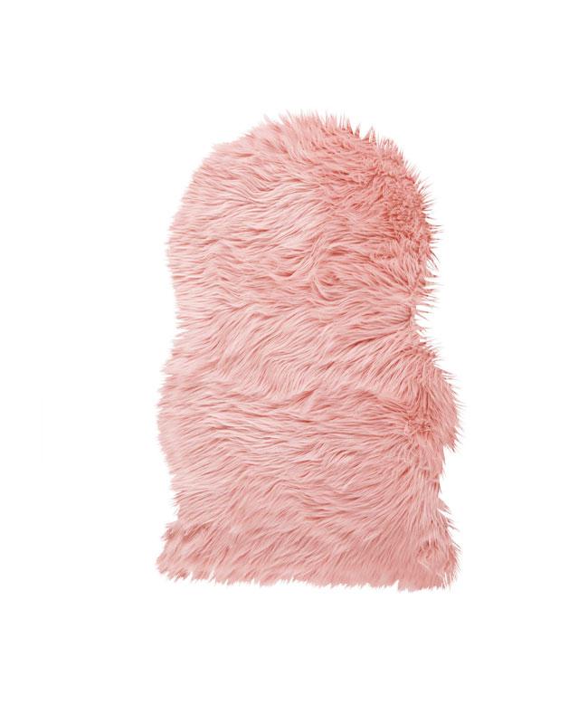selection meuble deco scandinave tapis fausse fourrure