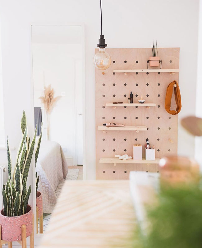 instagram diy deco fall for diy pegboard