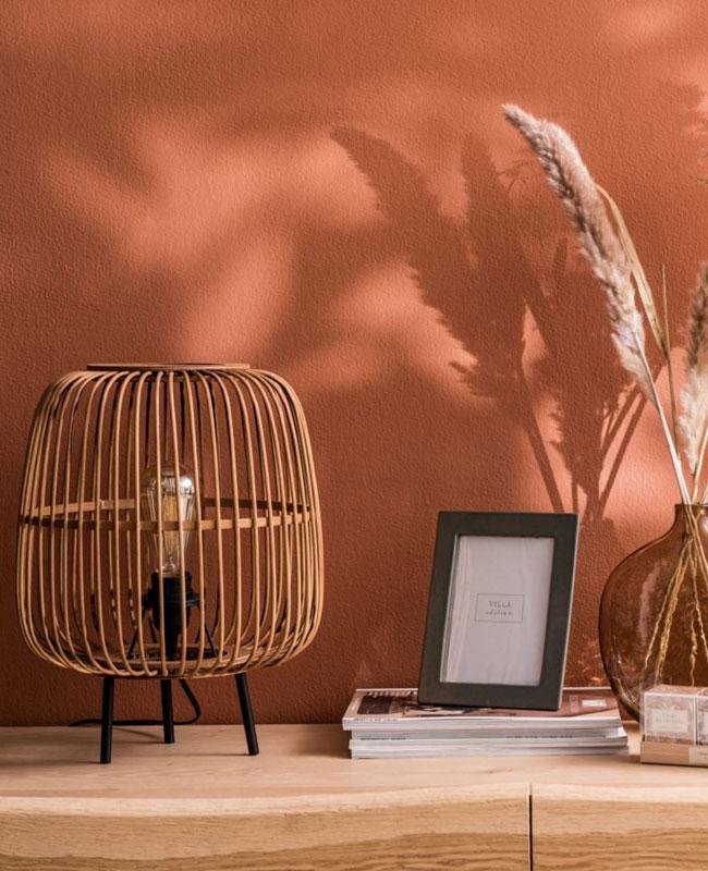 maisons du monde 2020 lampe ronde bambou