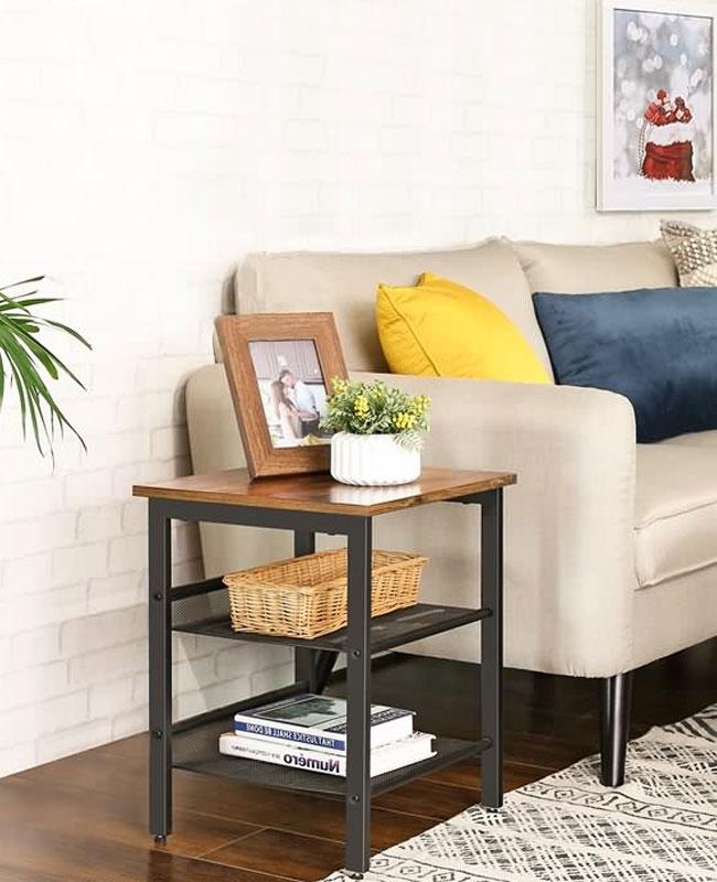 meuble industriel pas cher bout de canape