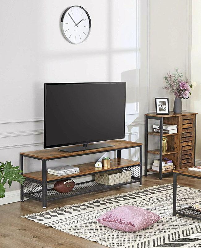 meuble industriel pas cher banc tv